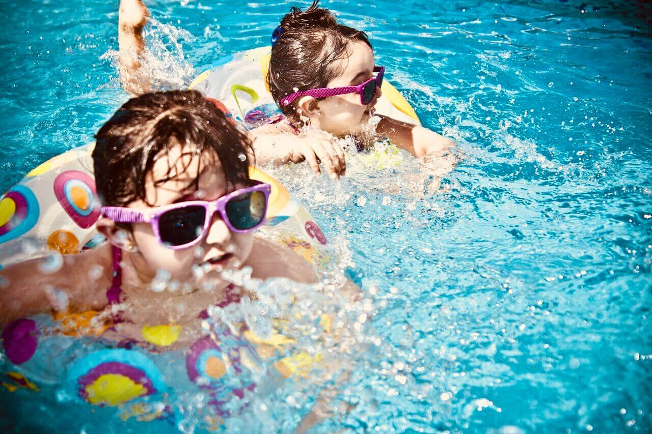 Make a Splash in the Outdoor Pool